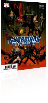 Marvel Comics: Guardians of the Galaxy - Issue # 6 Cover