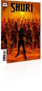 Marvel Comics: Shuri - Issue # 9 Cover