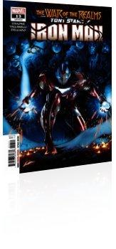 Marvel Comics: Tony Stark: Iron Man - Issue # 13 Cover
