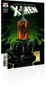 Marvel Comics: Uncanny X-Men - Issue # 20 Cover
