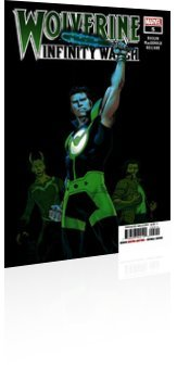 Marvel Comics: Wolverine: Infinity Watch - Issue # 5 Cover