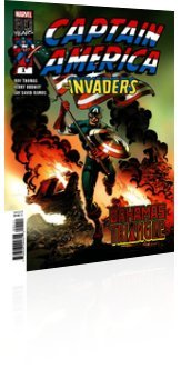 Marvel Comics: Captain America and the Invaders: Bahamas Triangle - Issue # 1 Cover