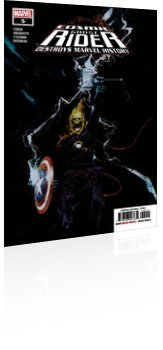 Marvel Comics: Cosmic Ghost Rider Destroys Marvel History - Issue # 5 Cover