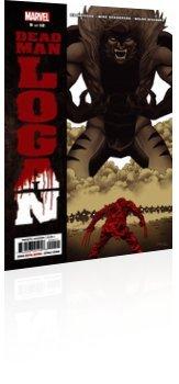 Marvel Comics: Dead Man Logan - Issue # 9 Cover