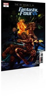 Marvel Comics: Fantastic Four: The Prodigal Sun - Issue # 1 Cover