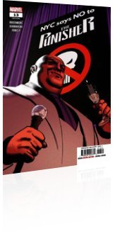 Marvel Comics: The Punisher - Issue # 13 Cover