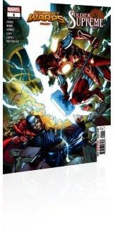 Marvel Comics: Secret Warps: Soldier Supreme - Annual # 1 Cover