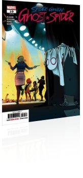 Marvel Comics: Spider-Gwen: Ghost Spider - Issue # 10 Cover