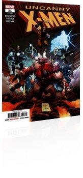 Marvel Comics: Uncanny X-Men - Issue # 21 Cover