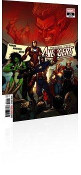 Marvel Comics: Avengers - Issue # 21 Cover