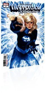 Marvel Comics: Invisible Woman - Issue # 1 Cover