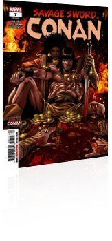 Marvel Comics: Savage Sword Of Conan - Issue # 7 Cover
