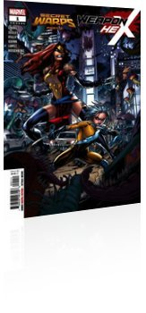 Marvel Comics: Secret Warps: Weapon Hex - Annual #1 Cover