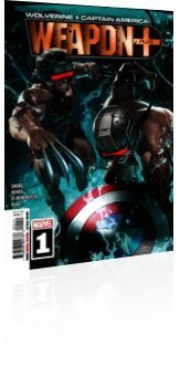 Marvel Comics: Wolverine and Captain America: Weapon Plus - Issue # 1 Cover