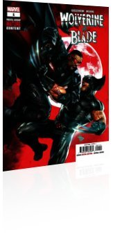 Marvel Comics: Wolverine vs Blade Special - Issue # 1 Cover