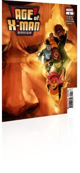 Marvel Comics: Age of X-Man: Omega - Issue # 1 Cover
