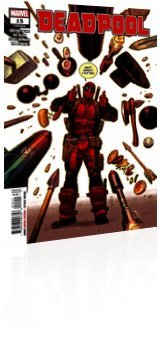 Marvel Comics: Deadpool - Issue # 15 Cover