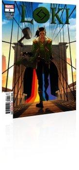 Marvel Comics: Loki - Issue # 1 Cover