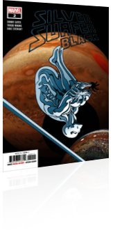 Marvel Comics: Silver Surfer: Black - Issue # 2 Cover