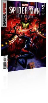 Marvel Comics: Marvel's Spider-Man: City at War - Issue # 5 Cover