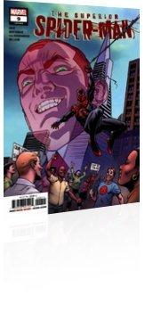 Marvel Comics: Superior Spider-Man - Issue # 9 Cover