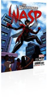 Marvel Comics: Unstoppable Wasp - Issue # 10 Cover
