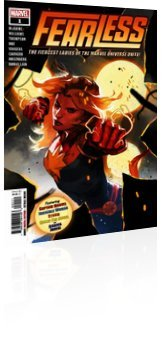 Marvel Comics: Fearless - Issue # 1 Cover