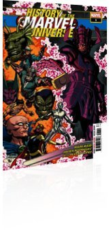 Marvel Comics: History of the Marvel Universe - Issue # 1 Cover