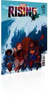Marvel Comics: Marvel Rising - Issue # 5 Cover