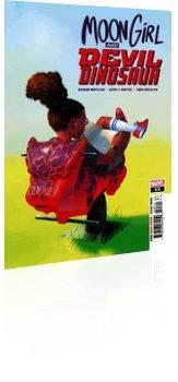 Marvel Comics: Moon Girl and Devil Dinosaur - Issue # 45 Cover