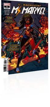 Marvel Comics: Magnificent Ms. Marvel - Issue # 5 Cover