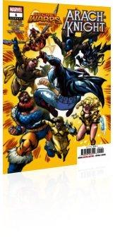 Marvel Comics: Secret Warps: Arachknight - Annual # 1 Cover