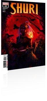 Marvel Comics: Shuri - Issue # 10 Cover