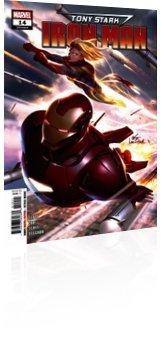 Marvel Comics: Tony Stark: Iron Man - Issue # 14 Cover