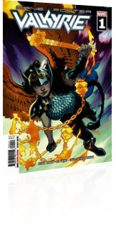 Marvel Comics: Valkyrie: Jane Foster - Issue # 1 Cover