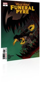 Marvel Comics: Web of Venom: Funeral Pyre - Issue # 1 Cover
