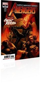 Marvel Comics: Avengers - Issue # 22 Cover