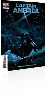 Marvel Comics: Captain America - Issue # 12 Cover