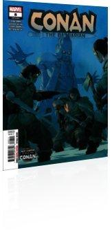 Marvel Comics: Heathen - Issue # 8 Cover