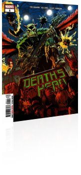Marvel Comics: Death's Head - Issue # 1 Cover