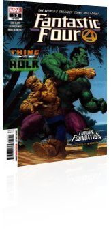 Marvel Comics: Fantastic Four - Issue # 12 Cover