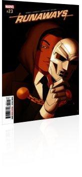 Marvel Comics: Runaways - Issue # 23 Cover