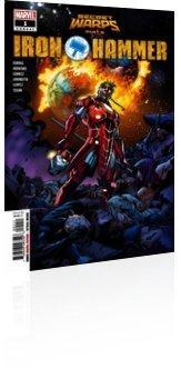Marvel Comics: Secret Warps: Iron Hammer - Annual # 1 Cover