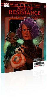 Marvel Comics: Star Wars: Age of Resistance Special - Issue # 1 Cover