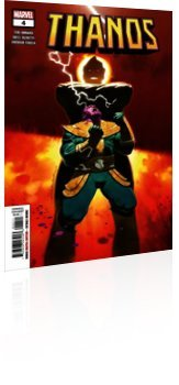 Marvel Comics: Thanos - Issue # 4 Cover