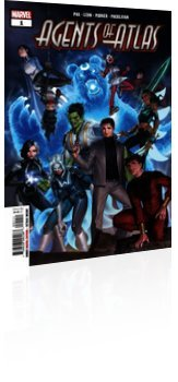 Marvel Comics: Agents Of Atlas - Issue # 1 Cover