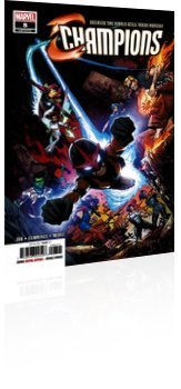 Marvel Comics: Champions - Issue # 8 Cover