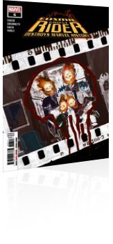 Marvel Comics: Cosmic Ghost Rider Destroys Marvel History - Issue # 6 Cover