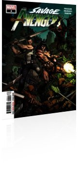 Marvel Comics: Savage Avengers - Issue # 4 Cover