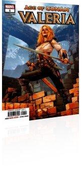 Marvel Comics: Age of Conan: Valeria - Issue # 1 Cover